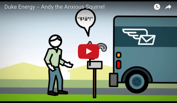 Andy The Anxious Squirrel